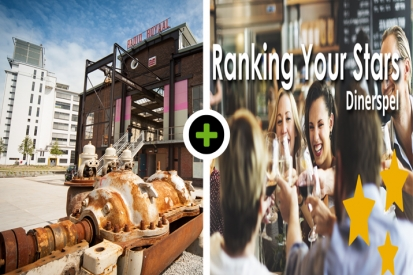 Gebak - Rondleiding Strijp-S - Ranking your Stars Dinner Game