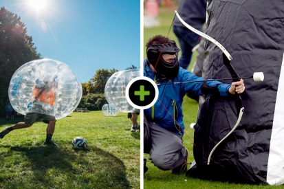 Bubble voetbal - Archery Tag