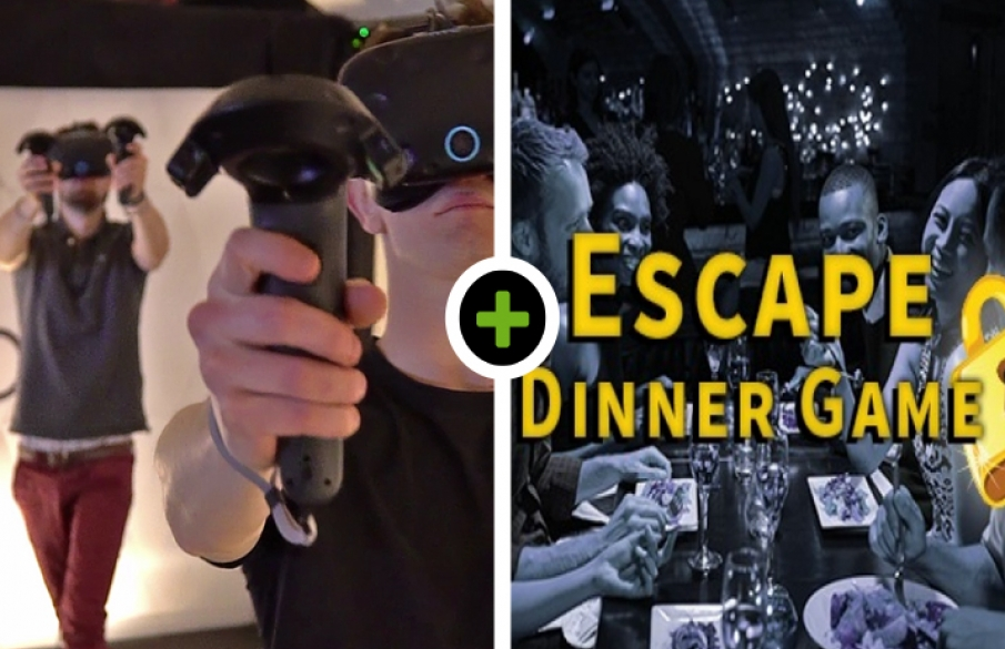 VR Experience - Escape Dinner Game